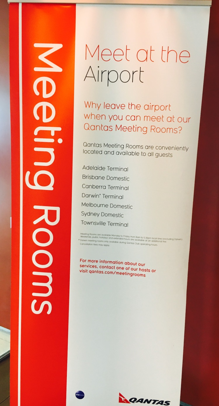 ADL LNG LOUNGE MEET ROOMS SIGN