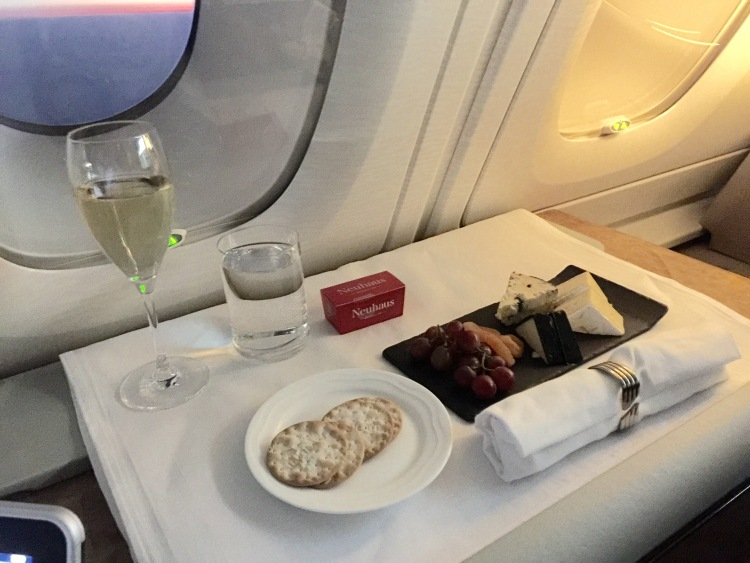 Emirates First Class cheese