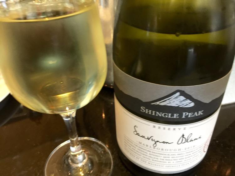 Qantas Lounge NZ wine